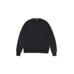 LAMBERTO LOSANI (ランベルト ロザーニ) Silk Cashmere Crew Neck Sweater(シルクカシミア クルーネック セーター) ハイゲージ シルクカシミヤニット セーター BLACK (ブラック・901) made in italy (イタリア製) 2019 秋冬新作のイメージ