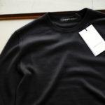 LAMBERTO LOSANI (ランベルト ロザーニ) Silk Cashmere Crew Neck Sweater(シルクカシミア クルーネック セーター) ハイゲージ シルクカシミヤニット セーター BLACK (ブラック・901) made in italy (イタリア製) 2019 秋冬新作 【入荷しました】【フリー分発売開始】のイメージ