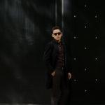 LARDINI (ラルディーニ) Spolverino Chester coat (スポルベリーノ チェスターコート) フラノウール生地 シングル チェスターコート BLACK (ブラック・4) Made in italy (イタリア製) 2019 秋冬新作のイメージ