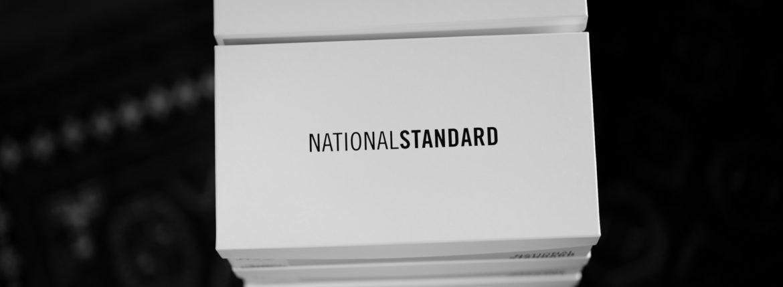 NATIONAL STANDARD (ナショナルスタンダード) EDITION 3 ALL OVER (M03-WH-000) レザースニーカー WHITE (ホワイト・000) 2019 秋冬新作 【入荷しました】【フリー分発売開始】のイメージ