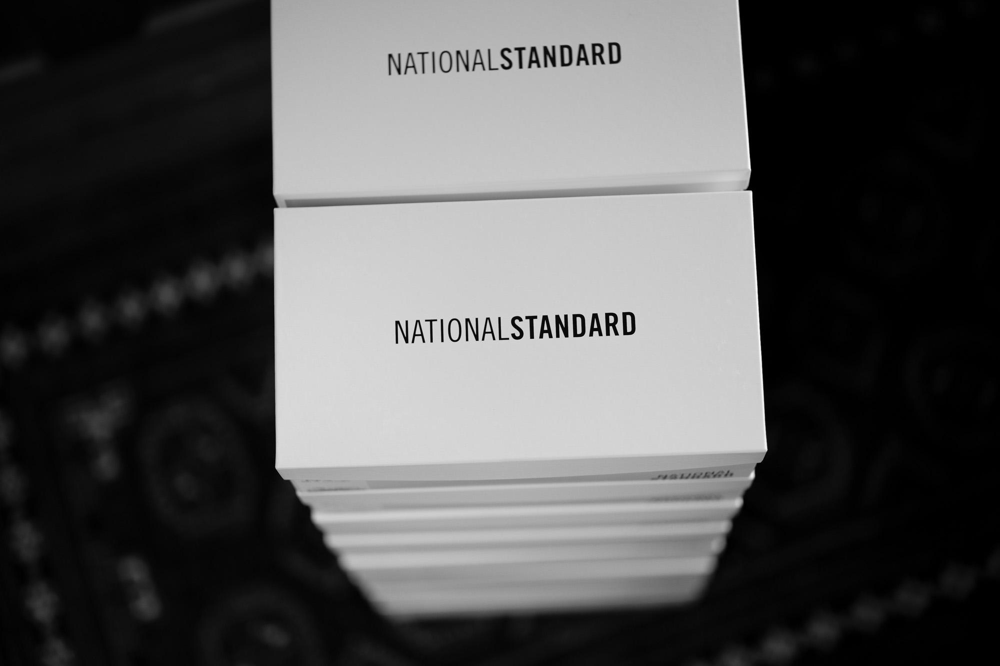 NATIONAL STANDARD (ナショナルスタンダード) EDITION 3 ALL OVER (M03-WH-000) レザースニーカー WHITE (ホワイト・000) 2019 秋冬新作 愛知 名古屋 altoediritto アルトエデリット nationalstandard 白スニーカー
