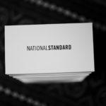 NATIONAL STANDARD (ナショナルスタンダード) EDITION 4 NAVY BANDE (M04-NA-005) レザースニーカー WHITE × NAVY (ホワイト × ネイビー・005) 2019 秋冬新作 【入荷しました】【フリー分発売開始】のイメージ