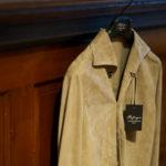 Alfredo Rifugio (アルフレード リフージオ) 20E326HM CAMOSCIO Summer Suede Leather Shirts サマースウェード レザーシャツ BEIGE(ベージュ) made in italy (イタリア製) 2020 春夏 【ご予約開始】 のイメージ