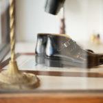 Cuervo (クエルボ) Derringer(デリンジャー) Annonay Vocalou Calf Leather アノネイ社 ボカルーカーフレザー Chukka Boots チャッカブーツ  BLACK(ブラック) MADE IN JAPAN(日本製) 2019 秋冬新作のイメージ