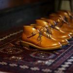 Cuervo (クエルボ)  Derringer (デリンジャー) Japan Museum Calf Leather(ジャパン ミュージアムカーフレザー) Chukka Boots チャッカブーツ レザーブーツ NEW GOLD(ニューゴールド) MADE IN JAPAN(日本製) 2019 秋冬新作 【Special Model】のイメージ
