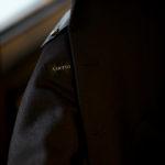 Cuervo (クエルボ) Sartoria Collection (サルトリア コレクション) Lobb (ロブ) Cashmere カシミア 3B ジャケット BROWN (ブラウン) MADE IN JAPAN (日本製) 2019 秋冬 【ご予約開始】のイメージ