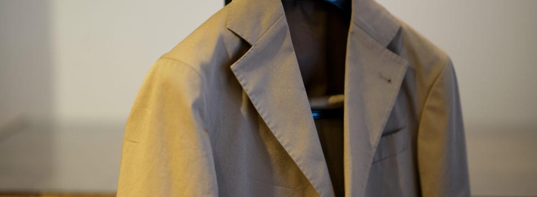 Cuervo (クエルボ) Sartoria Collection (サルトリア コレクション) Rooster (ルースター) ストレッチコットン スーツ BEIGE (ベージュ) MADE IN JAPAN (日本製) 2019【オーダー分入荷】のイメージ