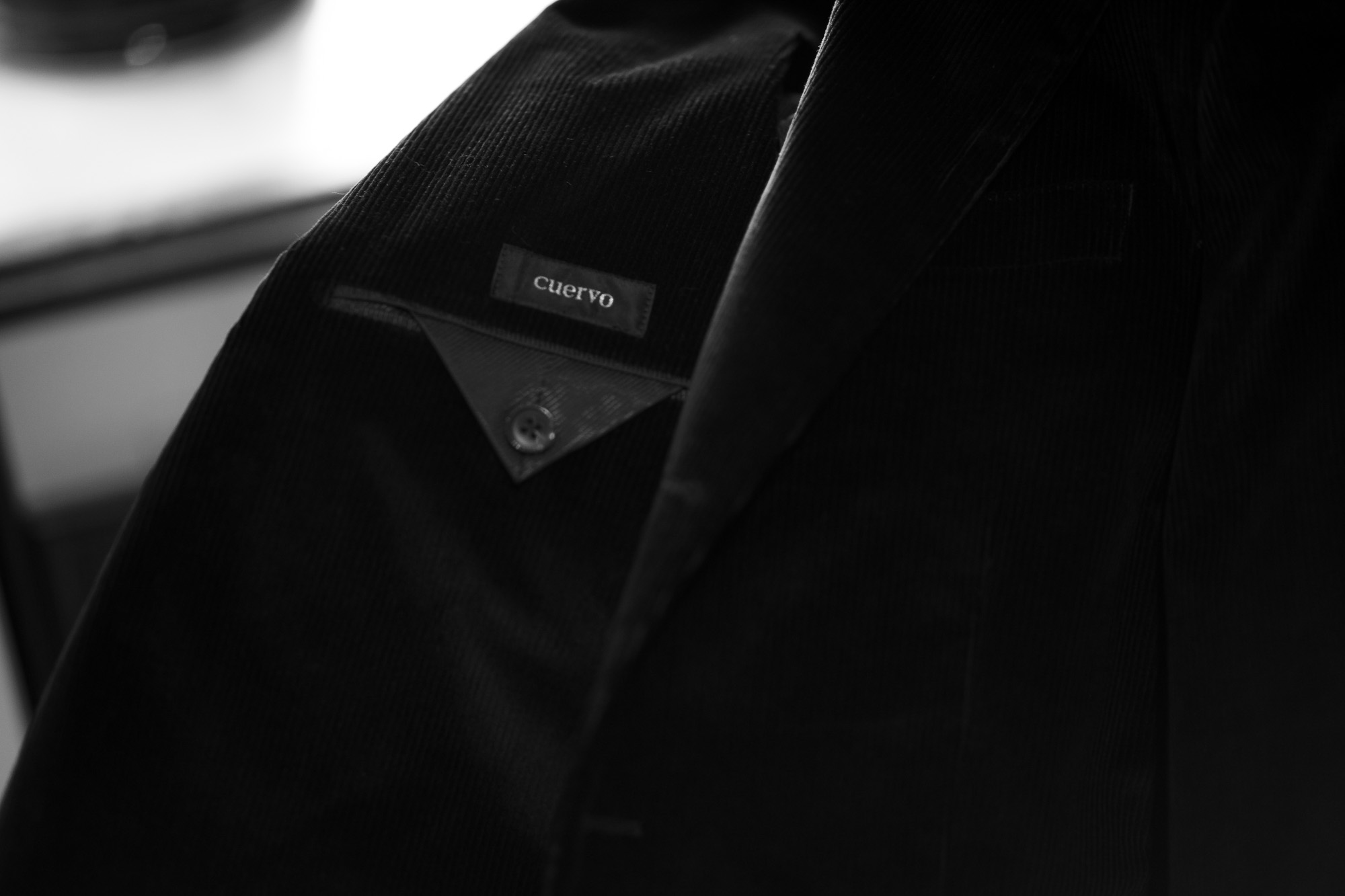 Cuervo (クエルボ) Sartoria Collection (サルトリア コレクション) Rooster (ルースター) STRETCH Corduroy ストレッチコーデュロイ スーツ BLACK (ブラック) MADE IN JAPAN (日本製) 2019 秋冬 【ご予約開始】愛知 名古屋 altoediritto アルトエデリット オーダースーツ オーダー