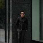 FIXER(フィクサー) F1(エフワン) DOUBLE RIDERS Cow Leather ダブルライダース ジャケット BLACK(ブラック) 【ご予約開始】【2019.10.18(Fri)~】 愛知 名古屋 altoediritto アルトエデリット