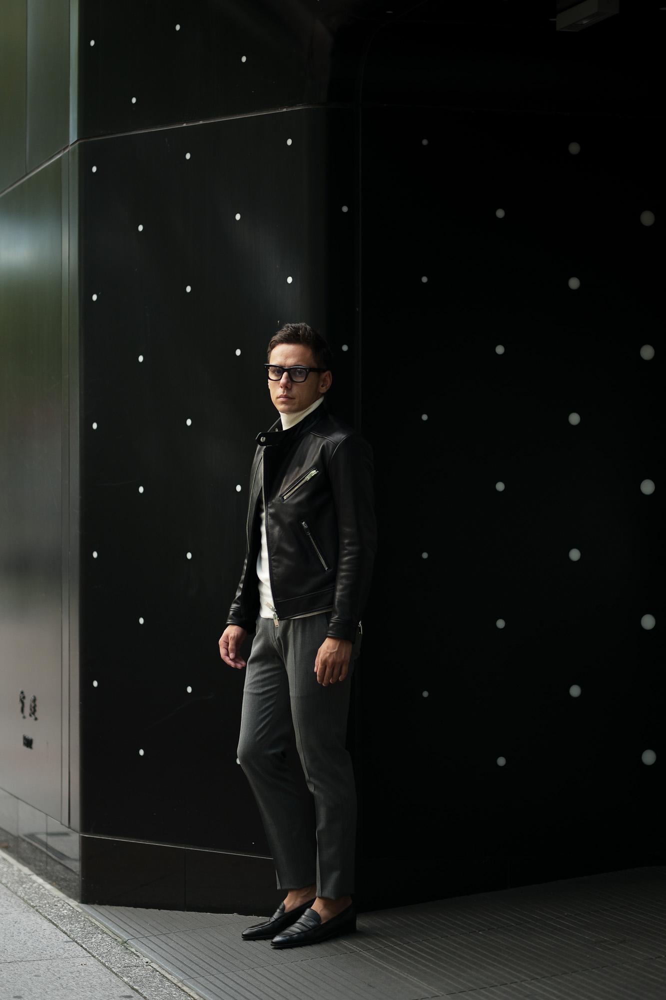 FIXER(フィクサー) F1(エフワン) DOUBLE RIDERS Cow Leather ダブルライダース ジャケット BLACK(ブラック) 【ご予約受付中】【2019.10.19(Sat)~2019.11.3(Sun)】愛知 名古屋 altoediritto アルトエデリット