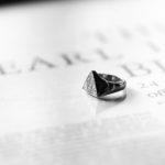 FIXER(フィクサー) ILLUMINATI EYES RING FULL PAVE WHITE DIAMOND 22K GOLD イルミナティ アイズリング ホワイトフルパヴェ ダイヤモンド  GOLD(ゴールド)のイメージ