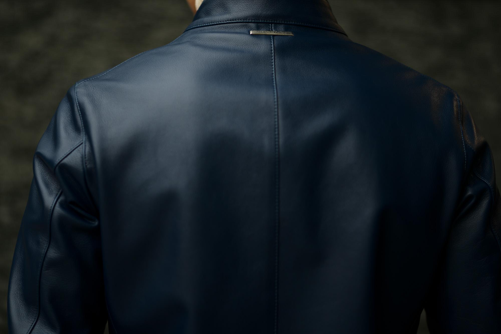 Georges de Patricia (ジョルジュ ド パトリシア) Carrera (カレラ) 925 STERLING SILVER (925 スターリングシルバー) Toulouse Cow Leather(トゥールーズ カウレザー) シングルライダースジャケット Patricia Blue (パトリシア ブルー) 2020 【限定スペシャルカラー】【ご予約受付中】georgesdepatricia ジョルジュドパトリシア 愛知 名古屋 altoediritto