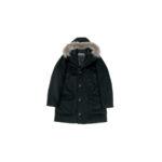 HERNO(ヘルノ) N-3B Cashmere coat (カシミア コート) LUIGI COLOMBO (ルイージ・コロンボ) 撥水 カシミア ロング コート BLACK (ブラック・9300) Made in italy (イタリア製) 2019 秋冬新作のイメージ