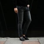 RICHARD J. BROWN (リチャード ジェイ ブラウン) TOKIO (トウキョウ) Denim Cashmere (ストレッチデニムカシミア) ジーンズ デニムパンツ GRAY (グレー・T28 W143) MADE IN ITALY (イタリア製) 2019 秋冬新作のイメージ