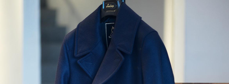 Sealup(シーラップ) GENOVA(ジェノバ) 50002 7591 01 メルトンウール サーモアライニング ロングPコート NAVY (ネイビー・01) MADE IN ITALY(イタリア製) 2019 秋冬新作 【入荷しました】【フリー分発売開始】シーラップ 愛知 名古屋 Alto e Diritto アルト エ デリット Pコート コート coat