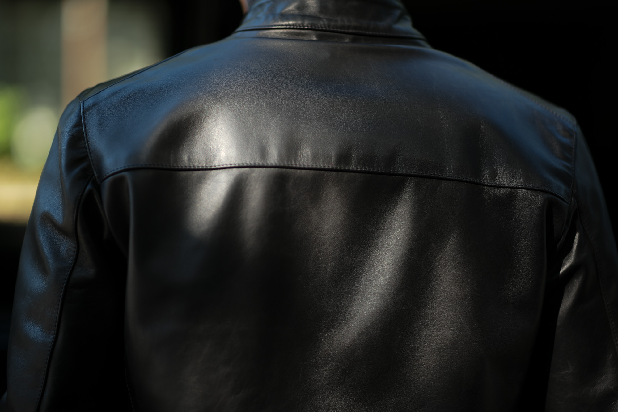 CINQUANTA(チンクアンタ) H502 STAND COLLAR RIDERS CAVALLO (スタンド カラー ジャケット) HORSE LEATHER ホースレザー シングル ライダース ジャケット BLACK GOLD (ブラック ゴールド・999) Made in italy (イタリア製) 2019 秋冬新作   cinquanta チンクアンタ レザージャケット 愛知 名古屋 Alto e Diritto アルト エ デリット アルトエデリット