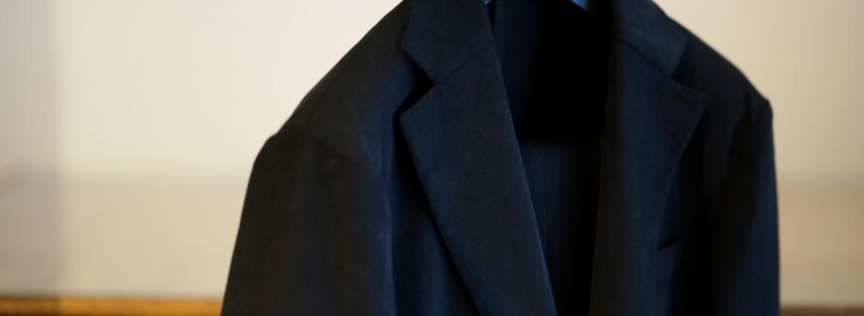 cuervo bopoha(クエルボ ヴァローナ) Sartoria Collection (サルトリア コレクション) Rooster (ルースター) STRETCH COTTON ストレッチコットン スーツ BLACK (ブラック) MADE IN JAPAN (日本製) 2019 秋冬【オーダー分入荷】のイメージ
