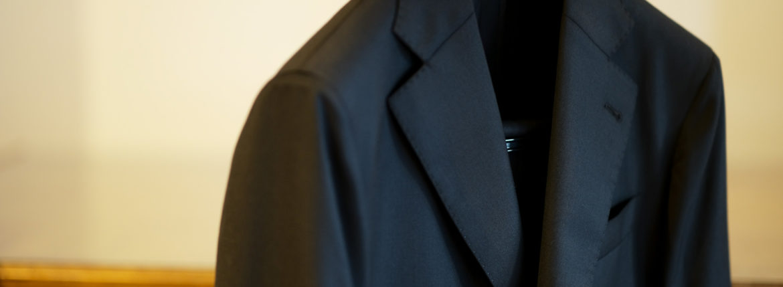 cuervo bopoha(クエルボ ヴァローナ) Sartoria Collection (サルトリア コレクション) Rooster (ルースター) Ermenegildo Zegna エルメネジルド・ゼニア 15 Milmil 15 15ミルミル15 スーツ BLACK (ブラック) MADE IN JAPAN (日本製) 2019.2020 【ご予約開始】のイメージ