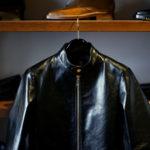 cuervo bopoha (クエルボ ヴァローナ) Satisfaction Leather Collection (サティスファクション レザー コレクション) RICHARD (リチャード) COW LEATHER (カウレザー) シングル ライダース ジャケット BLACK (ブラック) MADE IN JAPAN (日本製) 2020 cuervobopoha 愛知 名古屋 altoediritto アルトエデリット