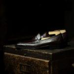 ENZO BONAFE(エンツォボナフェ) ART. EB-08 Coin Loafer コインローファー LAMA ラマレザー ドレスシューズ ローファー EBANO(ダークブラウン) made in italy (イタリア製) 2019のイメージ