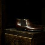 ENZO BONAFE (エンツォボナフェ) CARY GRANT III(ゲーリーグラント3)  MUSEUM CALF(ミュージアムカーフ)  Side gore Boots サイドゴアブーツ DARK BROWN(ダークブラウン) made in italy (イタリア製)のイメージ