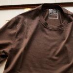 FEDELI(フェデーリ) Crew Neck T-shirt (クルーネック Tシャツ) ギザコットン Tシャツ BROWN (ブラウン・811) made in italy (イタリア製) 2020 春夏 【ご予約受付中】のイメージ
