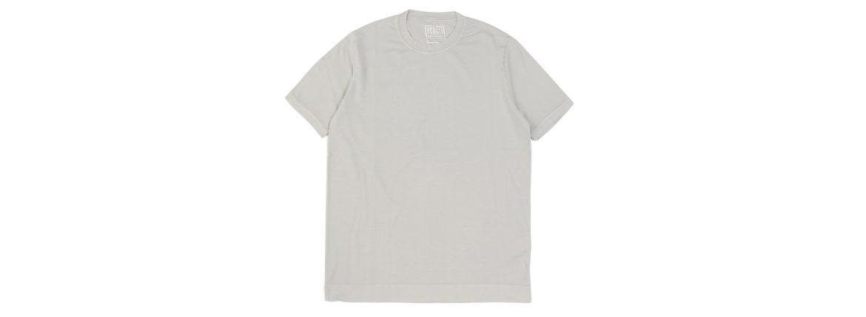 FEDELI(フェデーリ) Crew Neck T-shirt (クルーネック Tシャツ) ギザコットン Tシャツ GREGE (グレージュ・11) made in italy (イタリア製) 2020 春夏 【ご予約開始】のイメージ