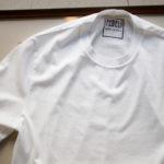 FEDELI(フェデーリ) Crew Neck T-shirt (クルーネック Tシャツ) ギザコットン Tシャツ WHITE (ホワイト・41) made in italy (イタリア製) 2020 春夏 【ご予約受付中】のイメージ