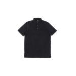 FEDELI(フェデーリ) Piquet Polo Shirt (ピケ ポロシャツ) カノコ ポロシャツ BLACK (ブラック・36) made in italy (イタリア製)2020 春夏 【ご予約開始】のイメージ