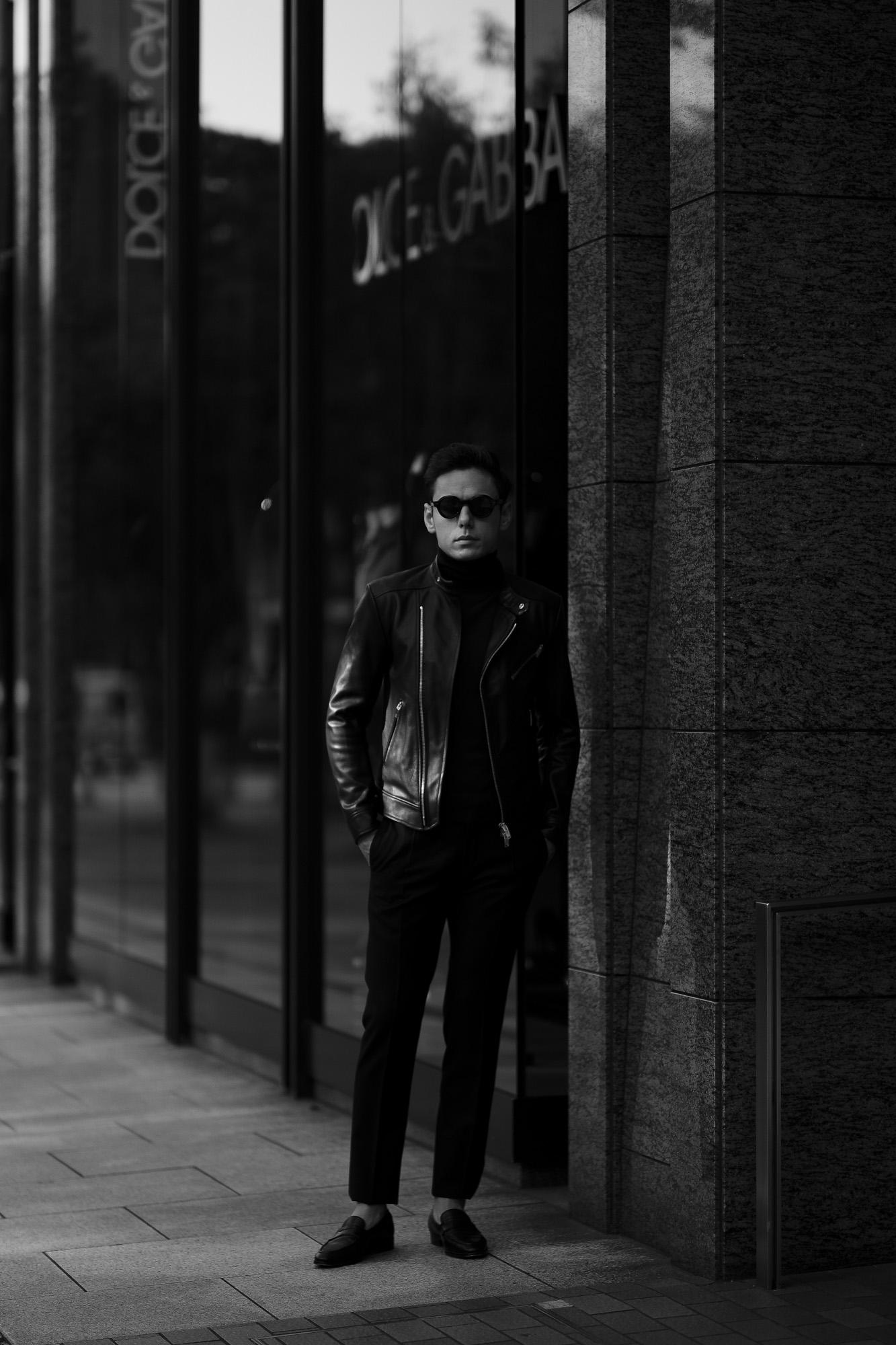 FIXER(フィクサー) F1(エフワン) DOUBLE RIDERS Cow Leather ダブルライダース ジャケット BLACK(ブラック) 【ご予約受付中】【2019.10.19(Sat)~2019.11.3(Sun)】 愛知 名古屋 altoediritto アルトエデリット