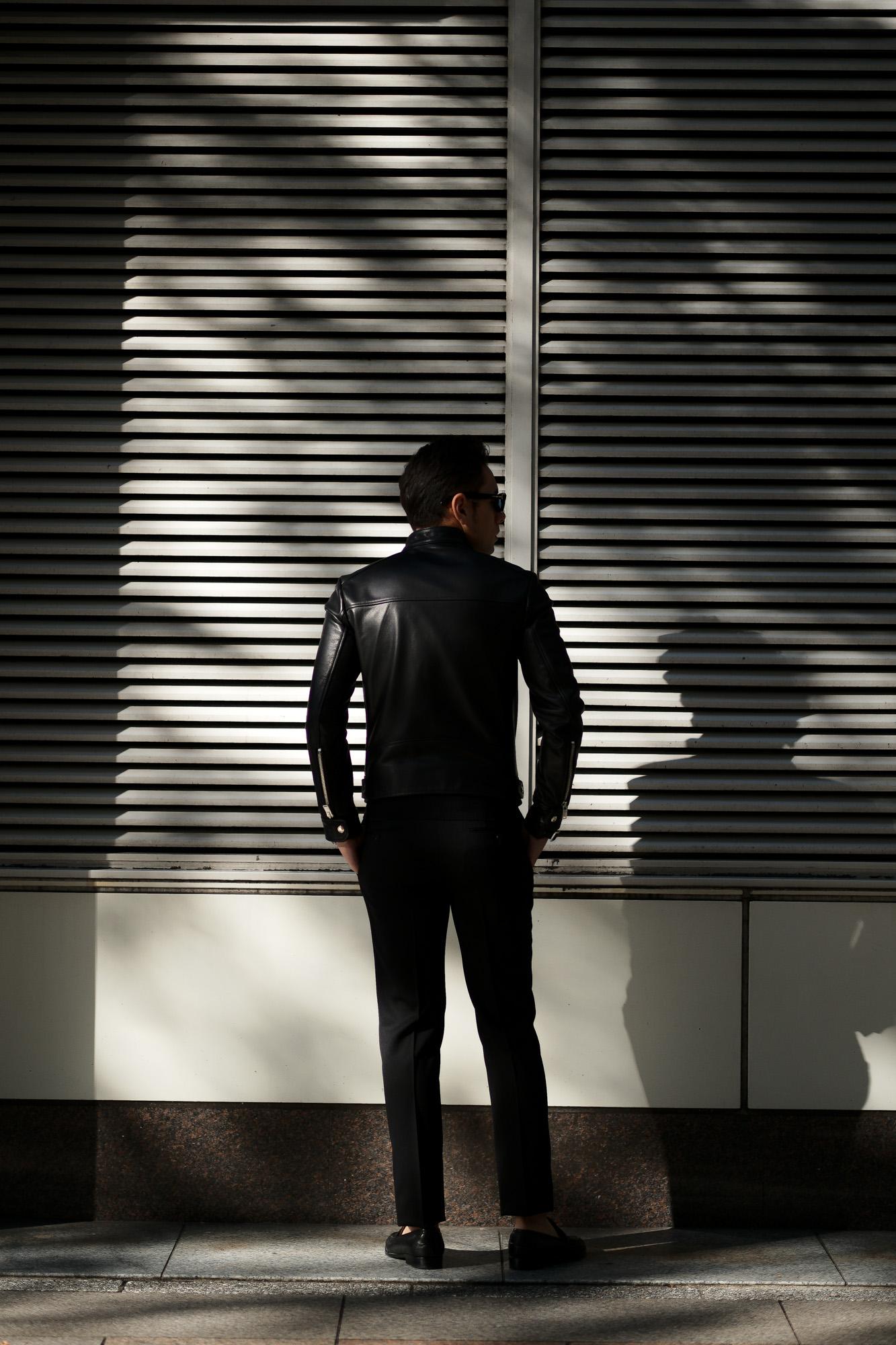 FIXER(フィクサー) F1(エフワン) DOUBLE RIDERS Cow Leather ダブルライダース ジャケット BLACK(ブラック) 【ご予約開始】【2019.11.22(Fri)~2019.12.08(Sun)】愛知 名古屋 altoediritto アルトエデリット レザージャケット