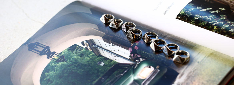 FIXER(フィクサー) ILLUMINATI EYES RING 925 STERLING SILVER(925 スターリングシルバー) イルミナティ アイズリング SILVER(シルバー) 【ご予約受付中】のイメージ