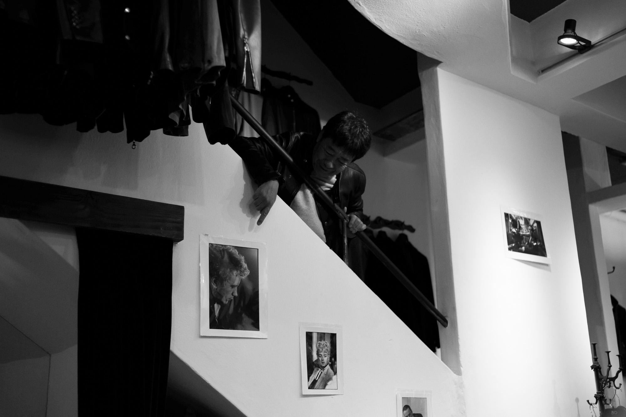 PUNK PUNK PUNKハービー・山口さん 愛知 名古屋 altoediritto アルトエデリット ジョーストラマー ライカ 写真家 ジョン・ライドン ジョニー・ロットン Johnny Rotten John Lydon ブライアンセッツァー Brian Setzer