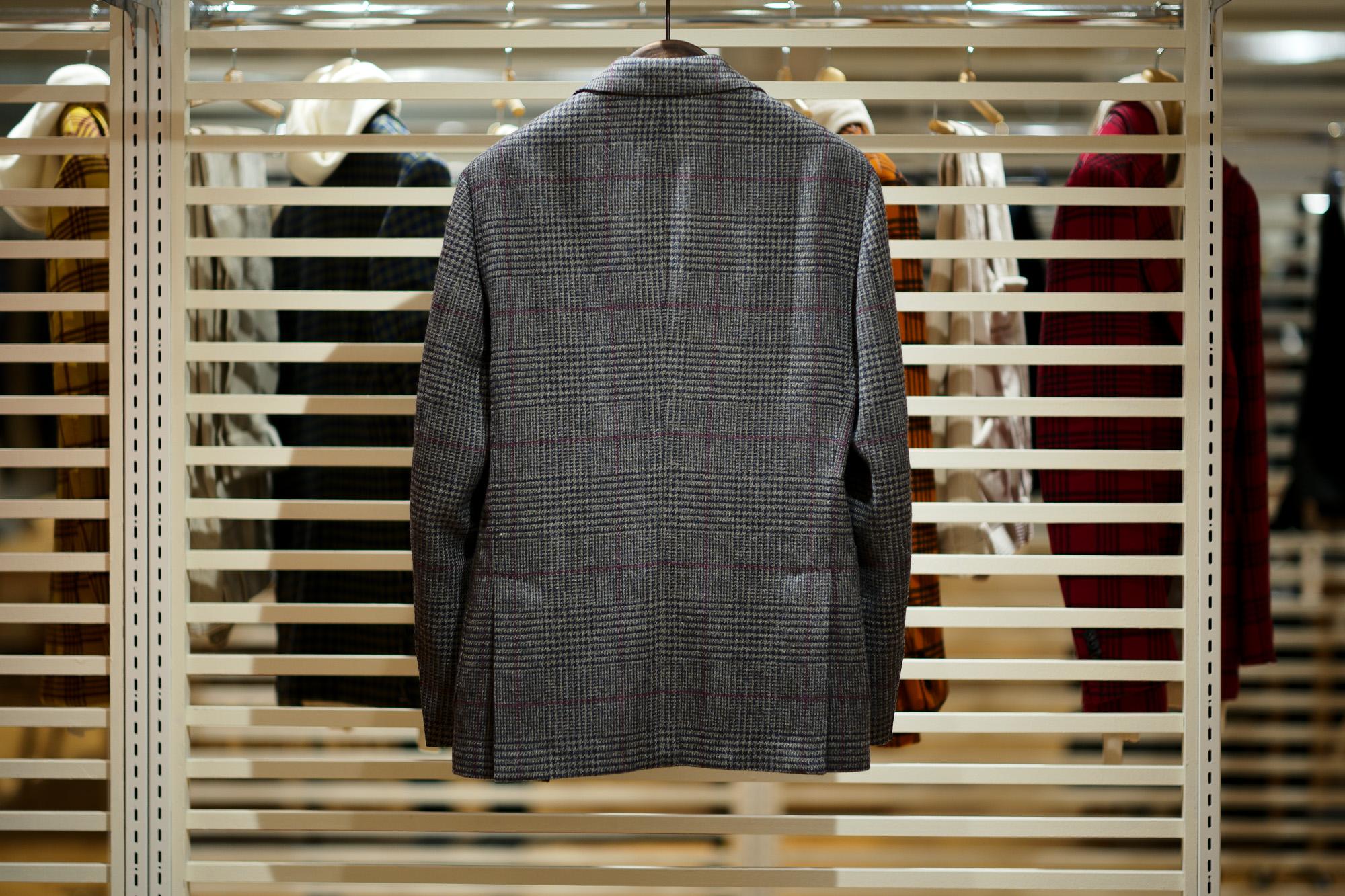 LARDINI / ラルディーニ (2020 秋冬 プレ展示会) 愛知 名古屋 altoediritto アルトエデリット スーツ ジャケット カシミヤ 黒のジャケット 黒のカシミヤジャケット
