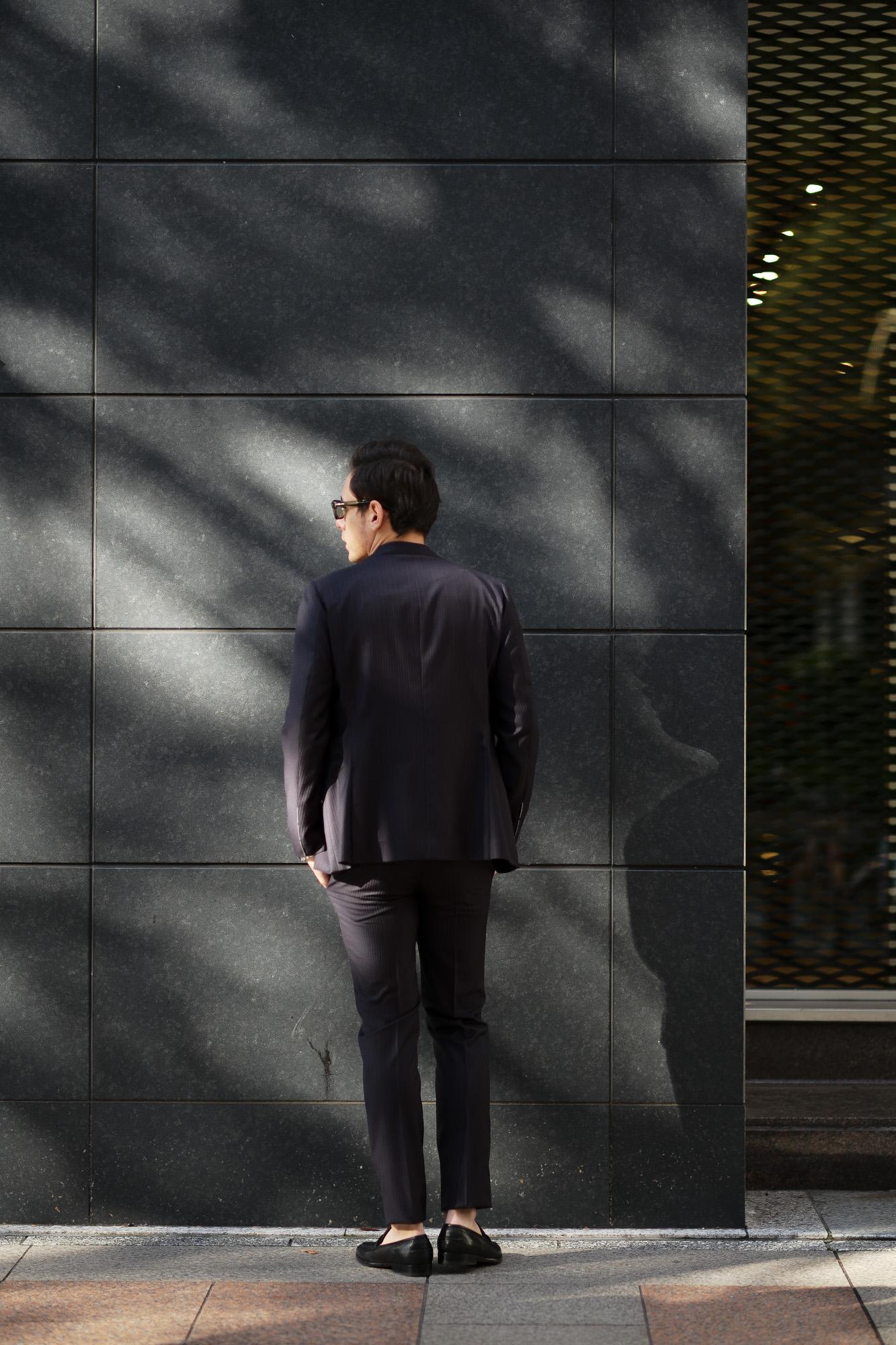 cuervo bopoha(クエルボ ヴァローナ) Sartoria Collection (サルトリア コレクション) Rooster (ルースター) Ermenegildo Zegna エルメネジルド・ゼニア シャドーストライプ スーツ DARK NAVY (ダークネイビー) MADE IN JAPAN (日本製) 2020 【ご予約受付中】 愛知 名古屋 altoediritto アルトエデリット