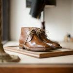 ENZO BONAFE(エンツォボナフェ) ART.3722 Chukka boots Horween Shell Cordovan Leather ホーウィン社 シェルコードバンレザー ノルベジェーゼ製法 チャッカブーツ コードバンブーツ BURBON(バーボン)  made in italy (イタリア製) 2020のイメージ