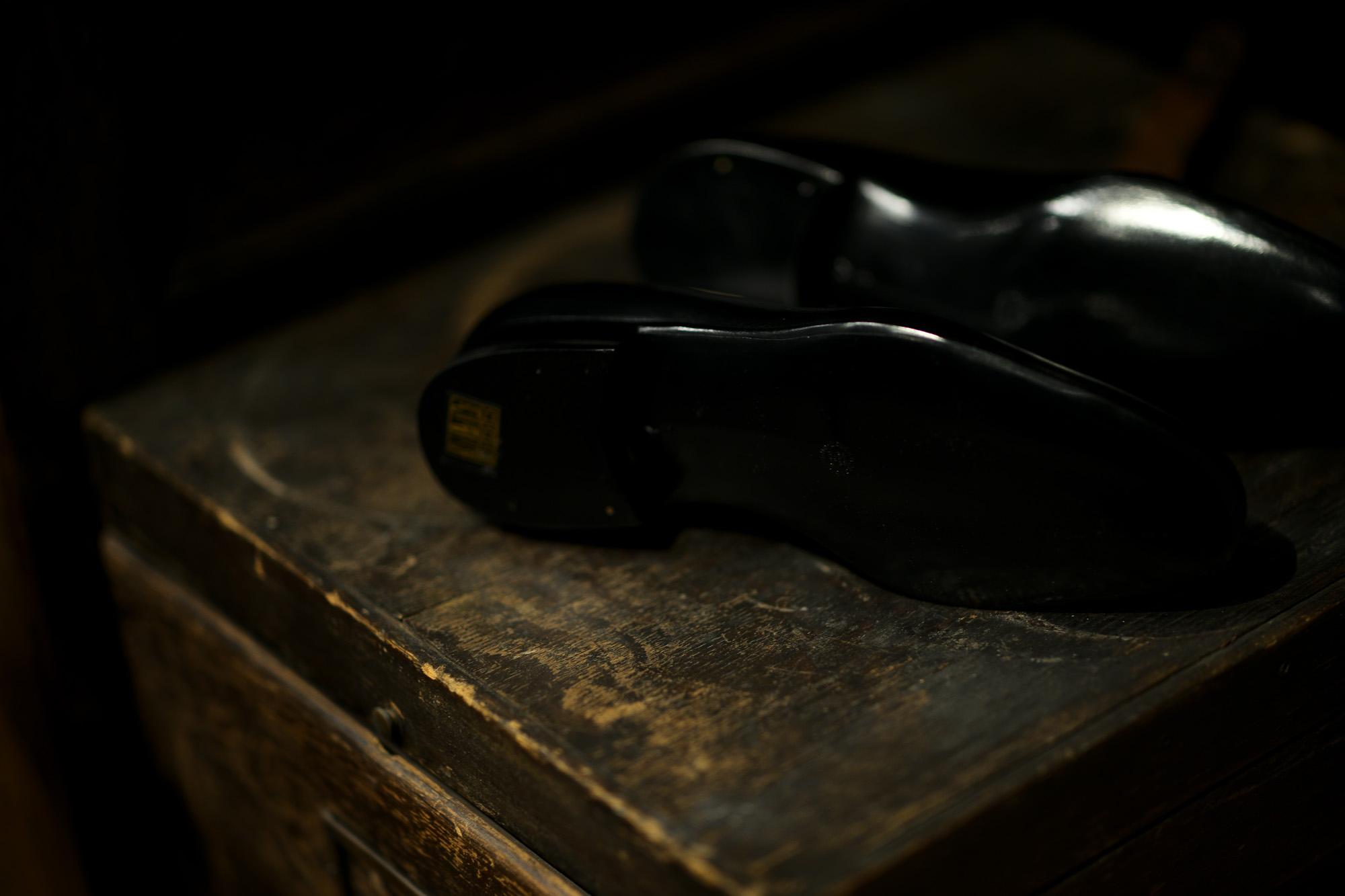 ENZO BONAFE(エンツォボナフェ) ART.3921 SLIP ON スリッポン INCA Leather ドレスシューズ スリッポン NERO (ブラック) made in italy (イタリア製) enzobonafe エンツォボナフェ ローファー zodiac nagoya alto e diritto altoediritto アルトエデリット