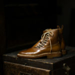ENZO BONAFE(エンツォボナフェ) ART.3983 Lace up Boots(レースアップブーツ) Horween Shell Cordovan Leather ホーウィン社シェルコードバンレザー ドレスシューズ ドレスブーツ BOURBON (バーボン) made in italy (イタリア製) エンツォボナフェ レースアップブーツ コードバン バーボン スペシャルブーツ 愛知 名古屋 altoediritto アルトエデリット