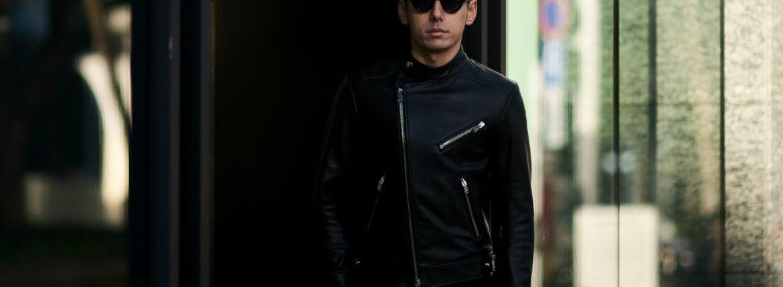 FIXER(フィクサー) F1(エフワン) DOUBLE RIDERS Cow Leather ダブルライダース ジャケット BLACK(ブラック) 【SOLD OUT】愛知 名古屋 altoediritto アルトエデリット レザージャケット