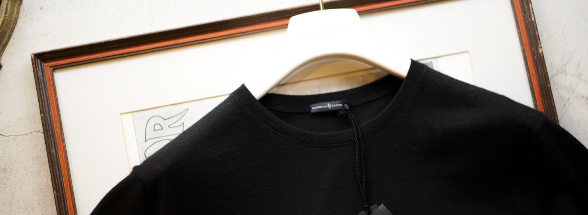 "MANRICO CASHMERE ""Cashmere 100"" T-Shirts M110 0000 2020AWのイメージ"