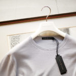 "MANRICO CASHMERE ""Silk Cashmere Wool"" Crew Neck Sweater M050 0000 2020AWのイメージ"