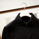 "MANRICO CASHMERE ""Silk Cashmere Wool"" Polo Halfzip Sweater M050 0004 2020AWのイメージ"