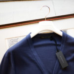 "MANRICO CASHMERE ""Silk Cashmere Wool"" V Neck Cardigan M050 0004 2020AWのイメージ"
