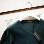 """MANRICO CASHMERE """"Silk Cashmere Wool"""" V Neck Sweater M050 0001 2020AWのイメージ"""