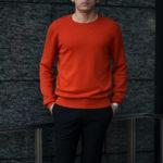 """MANRICO CASHMERE(マンリコカシミア) """"Super Cashmere"""" Crew Neck Sweater M040 0000 スーパーカシミヤ クルーネック セーター BLACK(ブラック),SNOW WHITE(スノーホワイト),DRESS BLUES(ドレスブルー),ROYAL BLUE(ロイヤルブルー),SABLE(グレージュ),GREY STONE(ダークグレー),AZTEC(ブラウン),CAMEL(キャメル),KOMBU GREEN(グリーン),YELLOW(イエロー),GRENADINE(オレンジ),HIGH RISK RED(ハイリスクレッド) MADE IN ITALY(イタリア製) 2020AWのイメージ"""