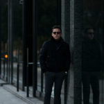 MOORER (ムーレー) AGON (アゴン) スエード ウールカシミア  ボンバー ダウンジャケット NERO(ブラック・08)  Made in italy (イタリア製) 2020 秋冬 【ご予約受付中】のイメージ