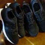 WH (ダブルエイチ) WH-0111S Faster Last(ファスターラスト) Suede Leather スエードレザー スニーカー BLACK×WHITE (ブラック×ホワイト),BLACK×BLACK (ブラック×ブラック)  MADE IN JAPAN (日本製) 2020【Alto e Diritto 別注 限定スエードモデル】【3月下旬入荷分 ご予約開始】のイメージ