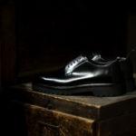 WH (ダブルエイチ) WHS-0010 Plane Toe Shoes (干場氏 スペシャル) Birdie Last (バーディラスト) ANNONAY Vocalou Calf Leather プレーントゥシューズ BLACK (ブラック) MADE IN JAPAN (日本製) 2020のイメージ