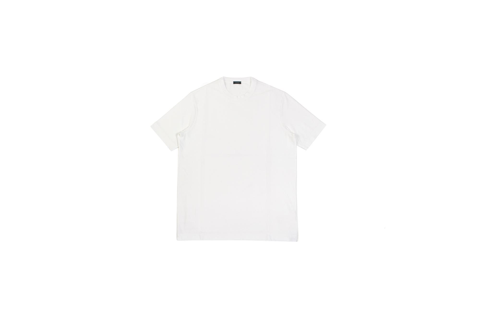 ZANONE(ザノーネ) Crew Neck T-shirt (クルーネックTシャツ) ice cotton アイスコットン Tシャツ MADE IN ITALY(イタリア製) 2020 春夏 【ご予約開始】愛知 名古屋 altoediritto アルトエデリット tee 夏Tシャツ