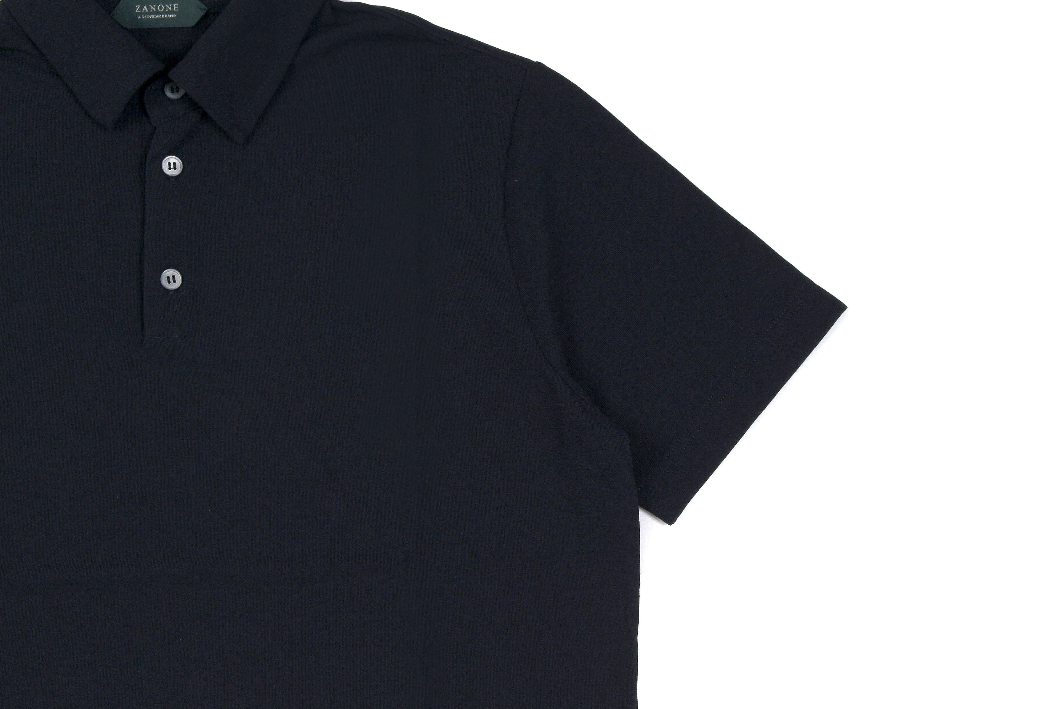 ZANONE(ザノーネ) Polo Shirt ice cotton アイスコットン ポロシャツ NAVY (ネイビー・Z0542) made in italy (イタリア製) 2020春夏新作 愛知 名古屋 altoediritto アルトエデリット